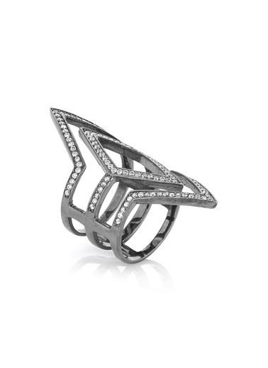 Bendis Design Pano Yüzük Gümüş
